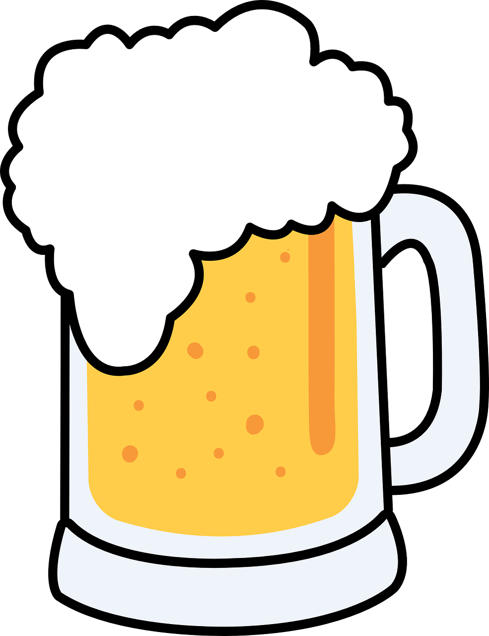 Free Cartoon Beer Mug Clip Art