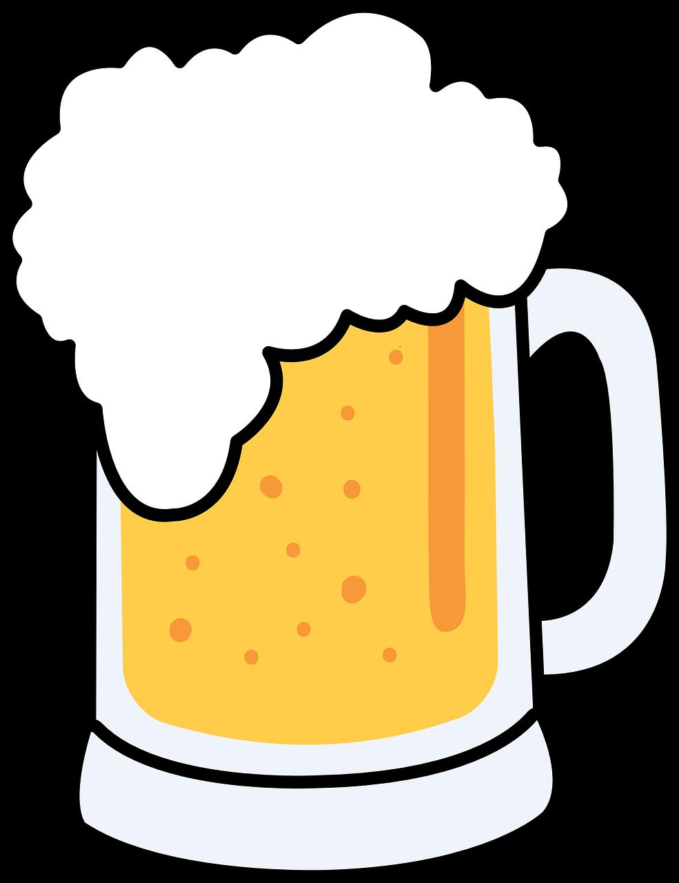 Free Cartoon Beer Mug Clip Art-Free Cartoon Beer Mug Clip Art-1
