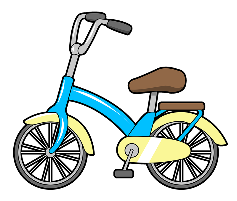 Free Cartoon Bicycle Clip Art u0026middot; bicycle12