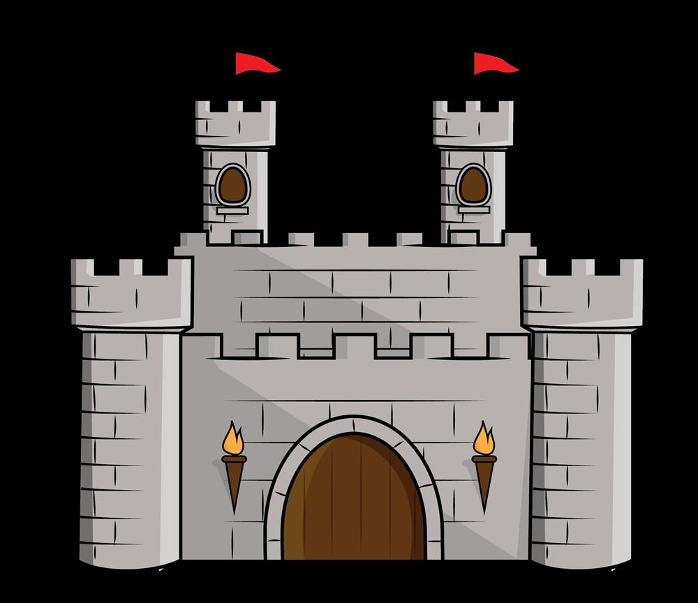 Free Cartoon Castle Clip Art u0026middot; castle11