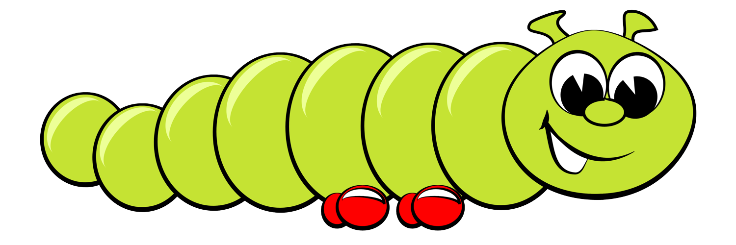 Free Cartoon Clipart Caterpillar-Free Cartoon Clipart Caterpillar-16