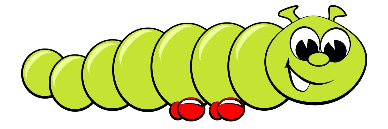 Free Cartoon Clipart Caterpil - Caterpillar Clipart