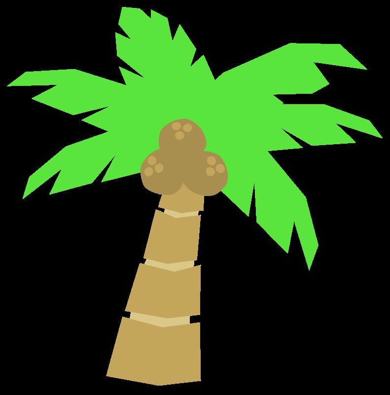 Free Cartoon Coconut Tree Clip Art-Free Cartoon Coconut Tree Clip Art-16