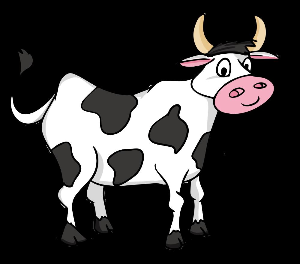 Free Cartoon Cow Clip Art-Free Cartoon Cow Clip Art-5
