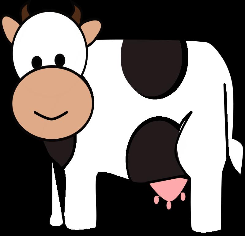 Free Cartoon Cow Clip Art-Free Cartoon Cow Clip Art-18