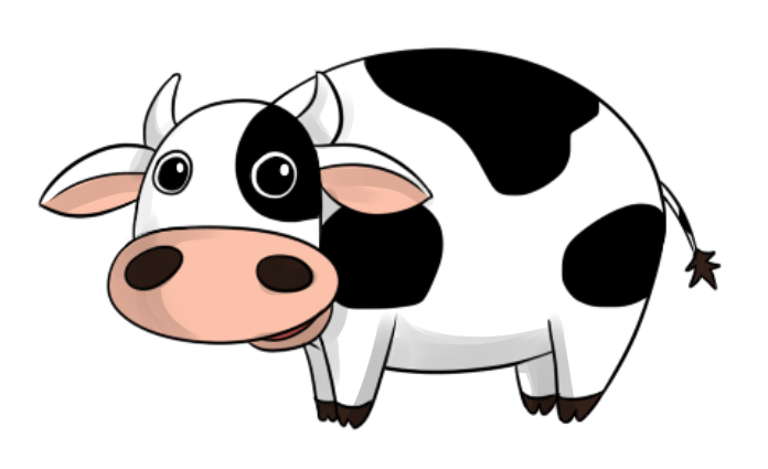 Cute Cow Clipart & Look At Clip Art Images - ClipartLook
