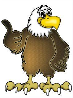 Free Cartoon Eagle Clip Art. Friendly Ea-Free Cartoon Eagle Clip Art. friendly eagle-10