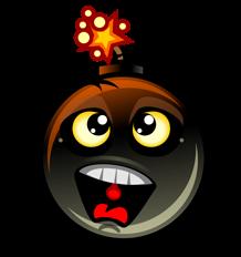 Free Cartoon Exploding Bomb Clip Art-Free Cartoon Exploding Bomb Clip Art-13