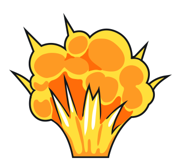 Free Cartoon Explosion Clip Art-Free Cartoon Explosion Clip Art-16