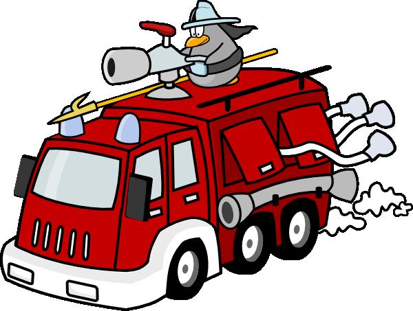 Free Cartoon Fire Truck Clip Art-Free Cartoon Fire Truck Clip Art-16