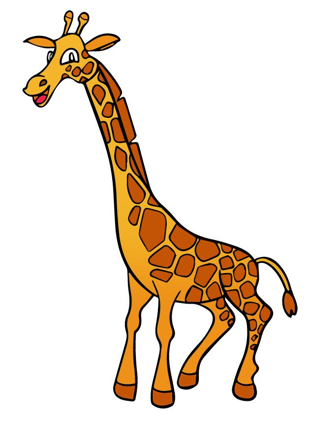 Free Cartoon Giraffe Clip Art U0026middo-Free Cartoon Giraffe Clip Art u0026middot; giraffe14-4