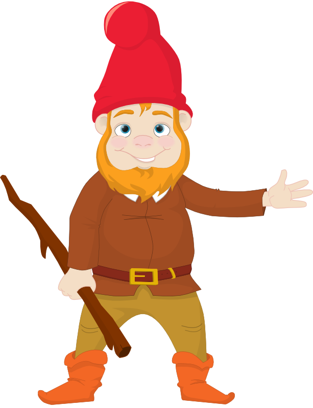 Free Cartoon Gnome Clip Art-Free Cartoon Gnome Clip Art-5