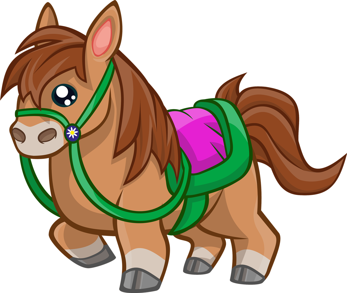 Free Cartoon Horse Clip Art