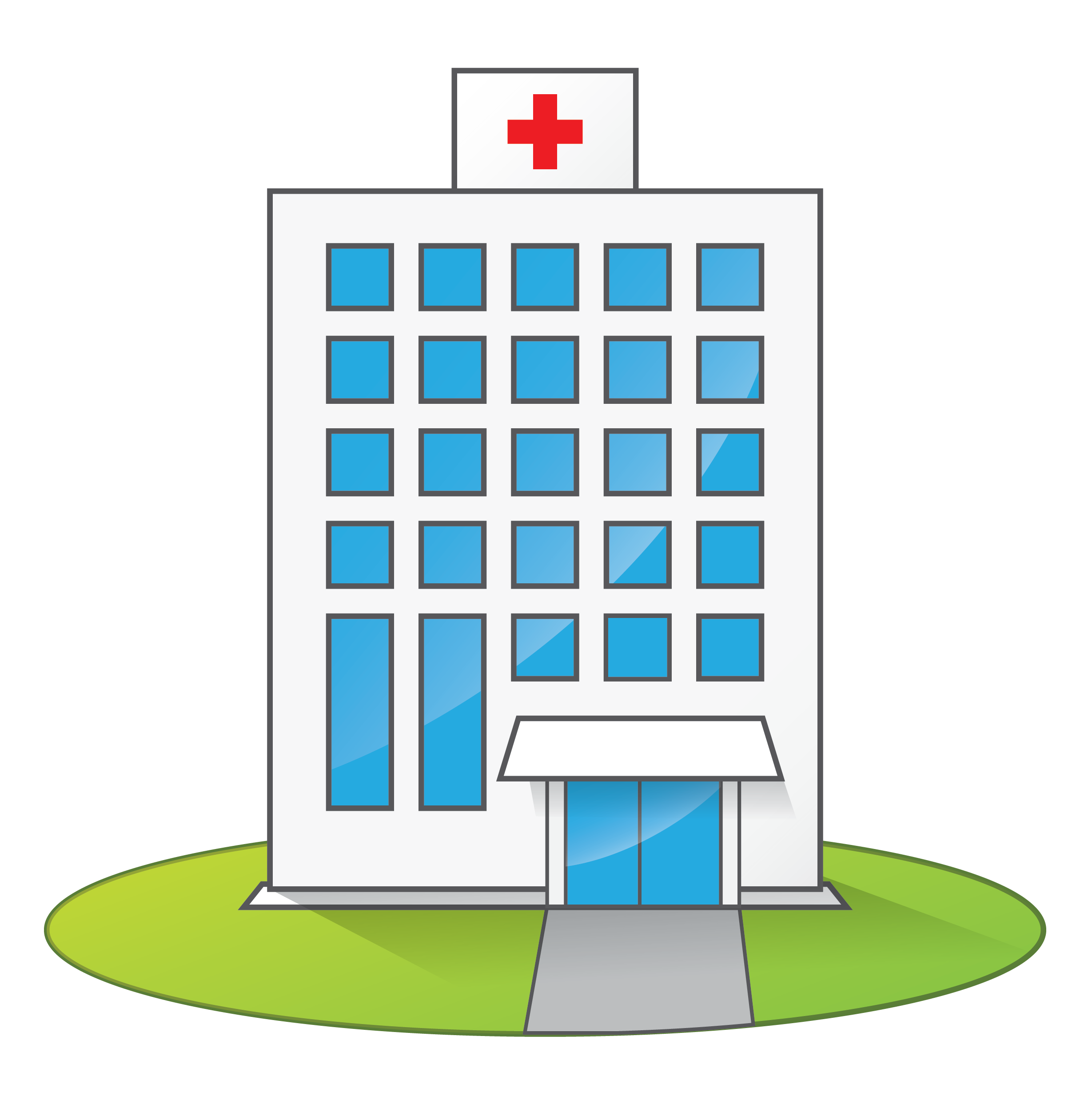 Free Cartoon Hospital Clip Art