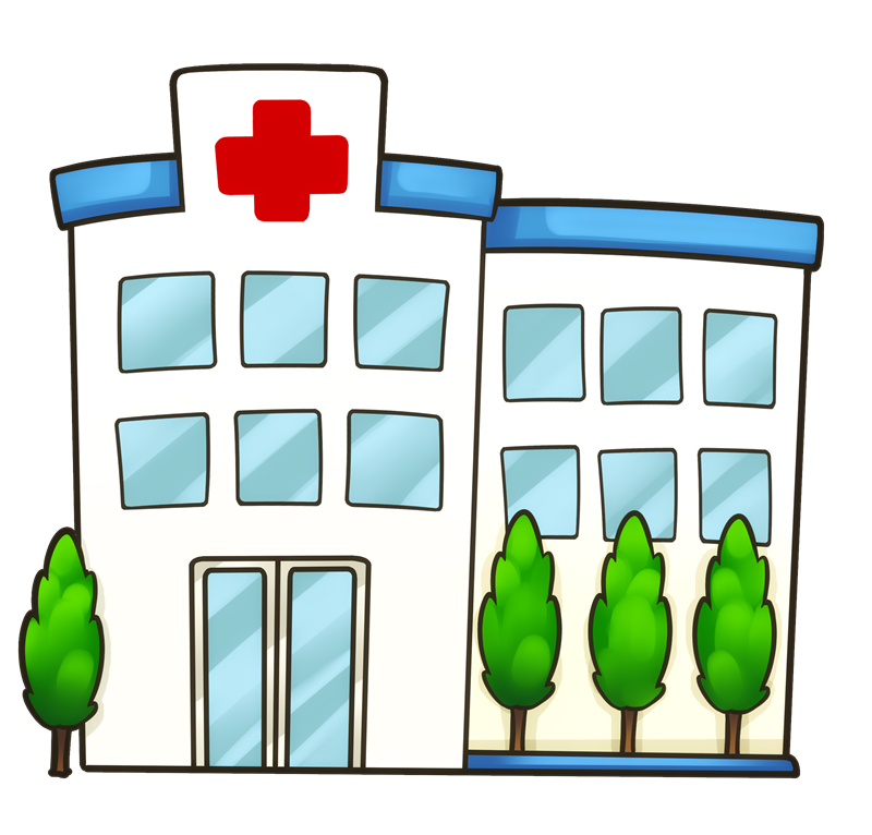 Free Cartoon Hospital Clip Art u0026middot; hospital11