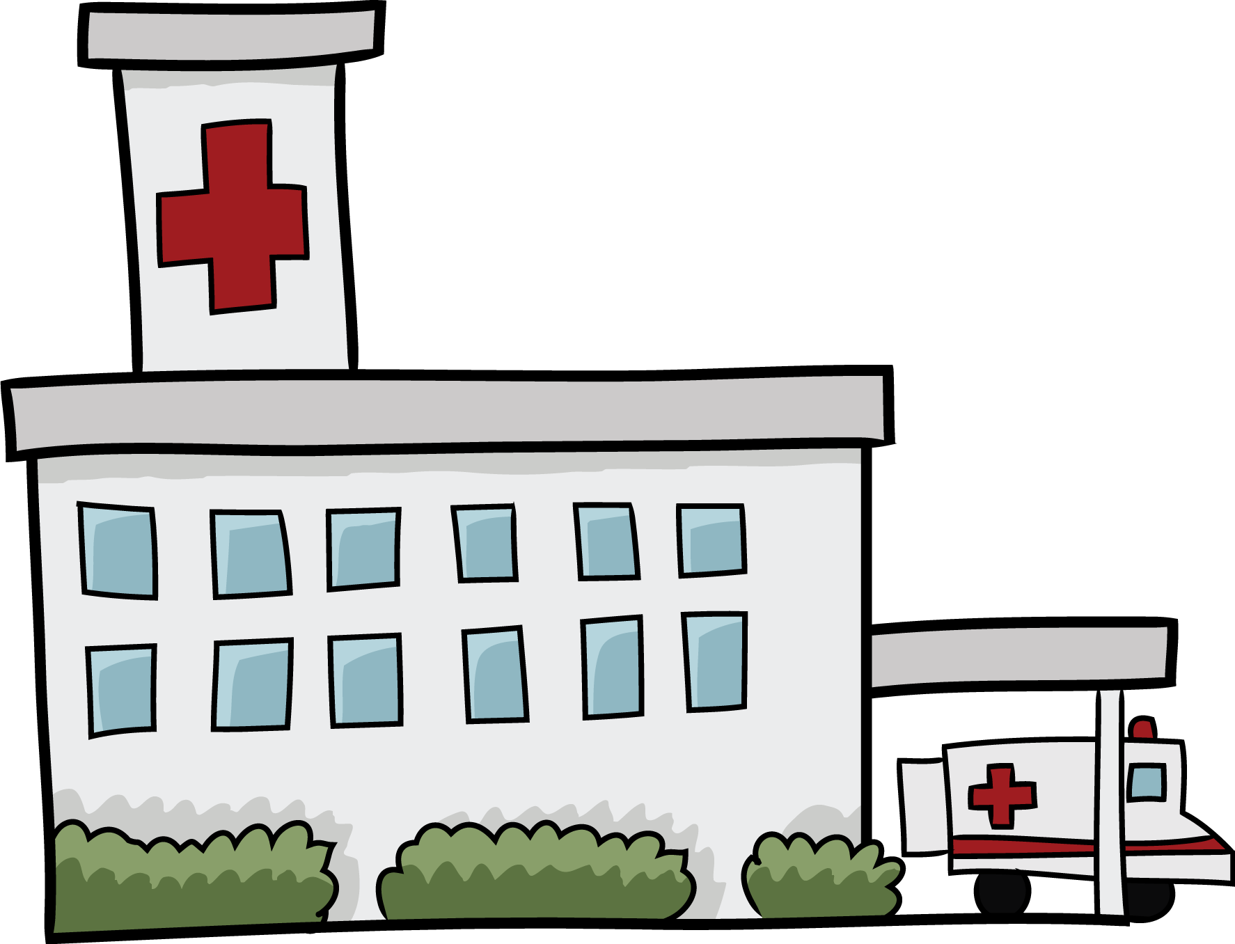 Free Cartoon Hospital Clip Art u0026middot; hospital9