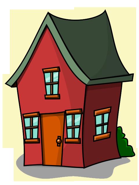 Free Cartoon House Clip Art-Free Cartoon House Clip Art-5