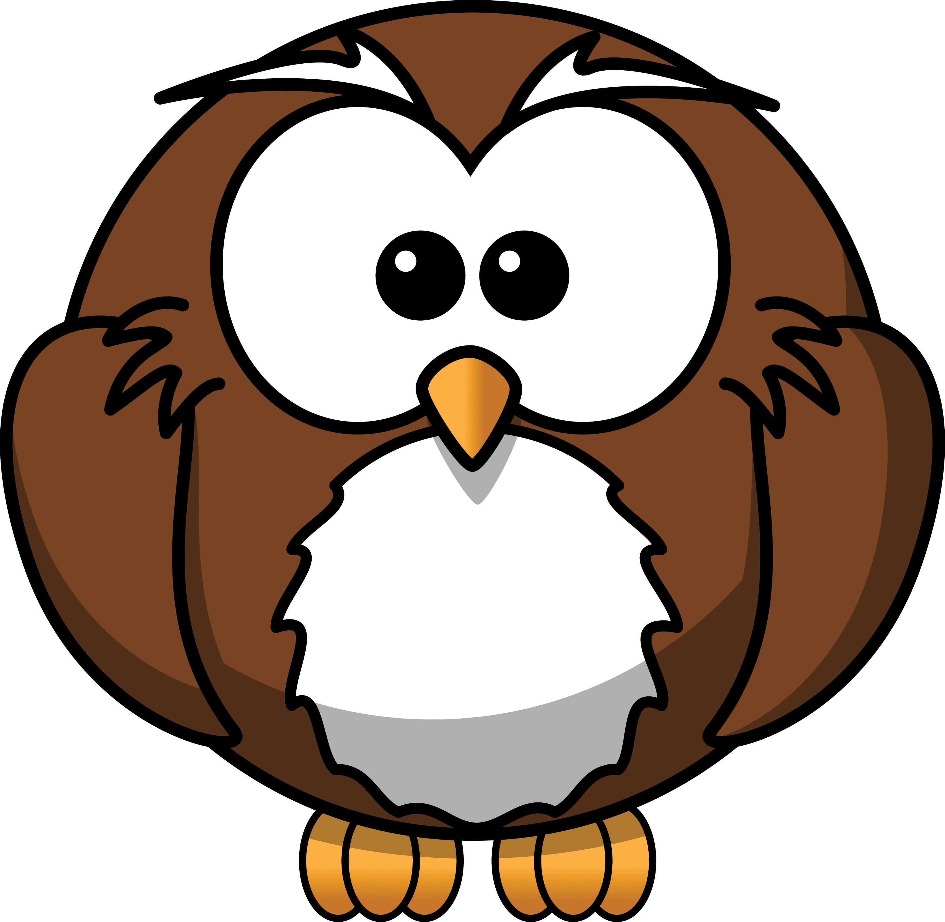 Free Cartoon Owl Clipart