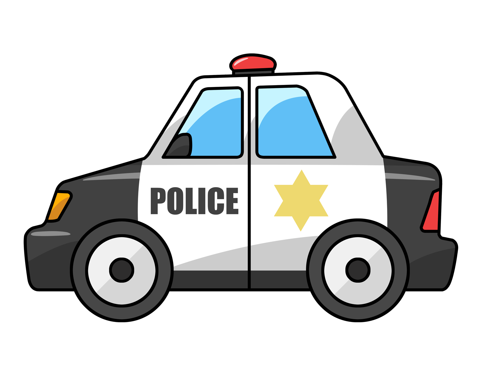 Free Cartoon Police Car Clip Art-Free Cartoon Police Car Clip Art-2