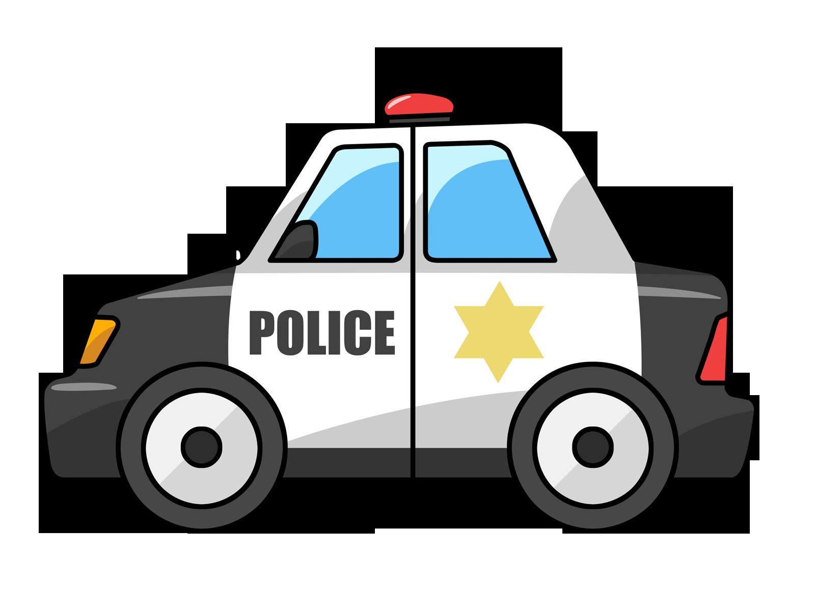 Free Cartoon Police Car Clip Art