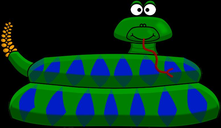 Free Cartoon Rattlesnake Clip Art-Free Cartoon Rattlesnake Clip Art-2