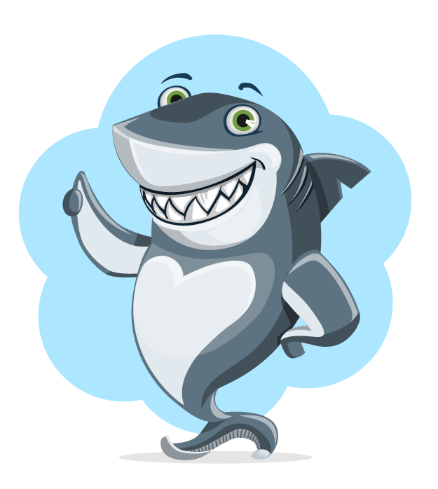 Free Cartoon Shark Clip Art u0026middot; shark13