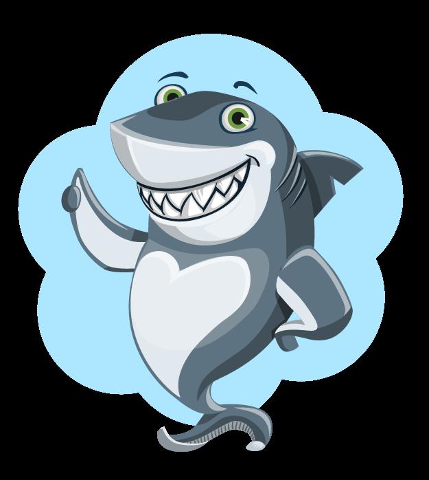 Free Cartoon Shark Clip Art U0026middot;-Free Cartoon Shark Clip Art u0026middot; shark13-0