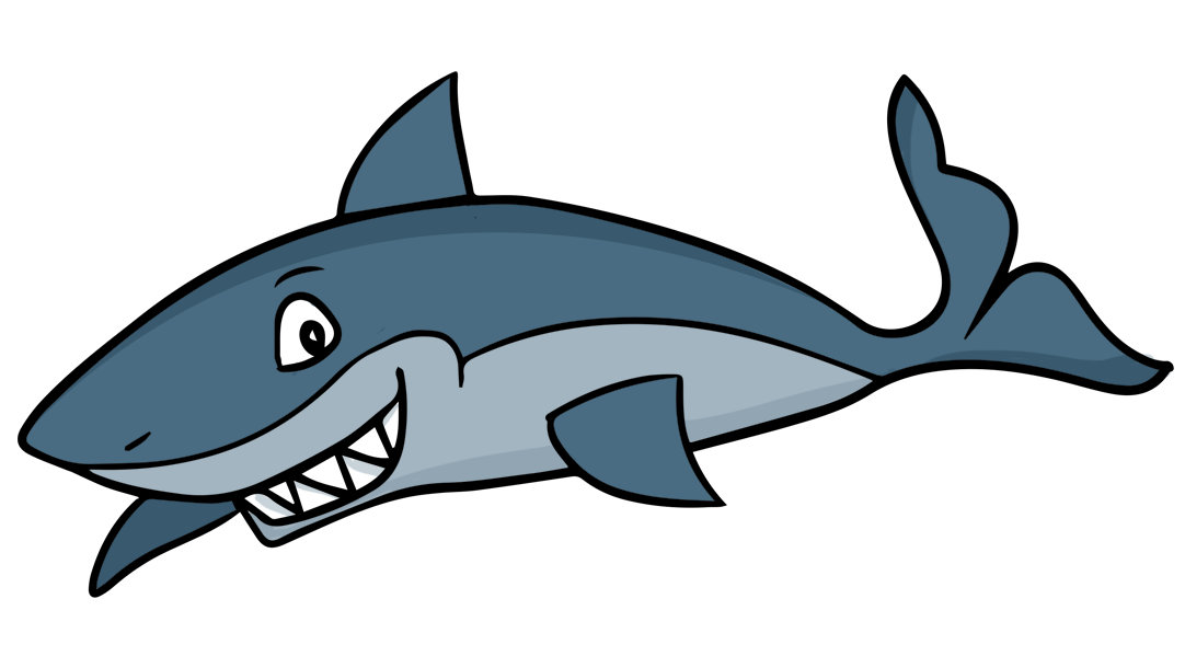Free Cartoon Shark Clip Art u0026middot; shark9