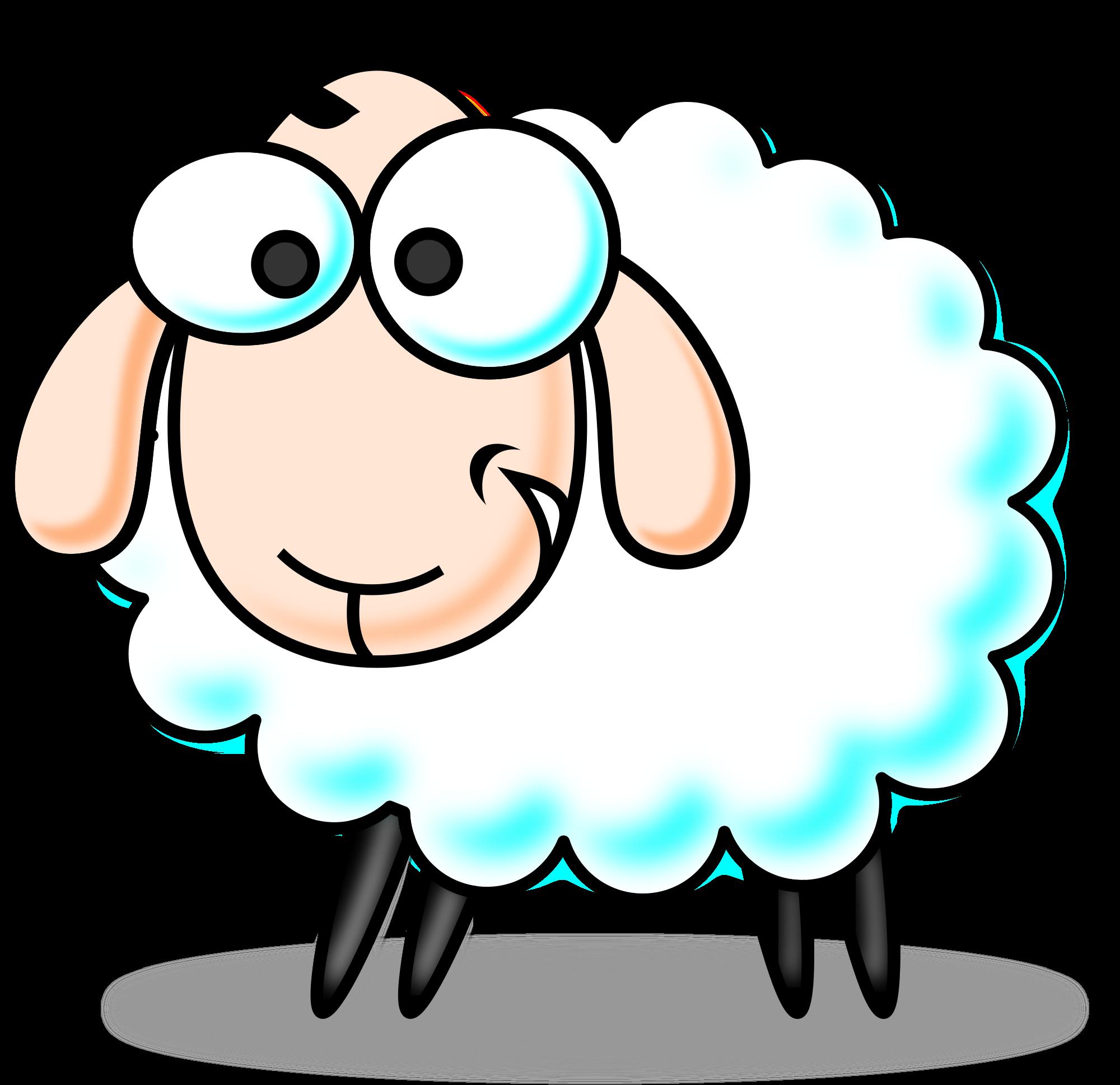 Free cartoon sheep clip art .-Free cartoon sheep clip art .-11