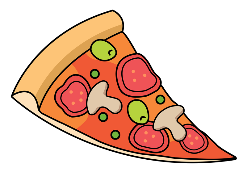 Free Cartoon Sliced Pizza Clip Art u0026middot; pizza12