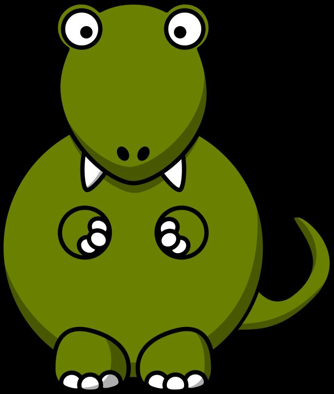 Free Cartoon T-Rex Clip Art-Free Cartoon T-Rex Clip Art-5