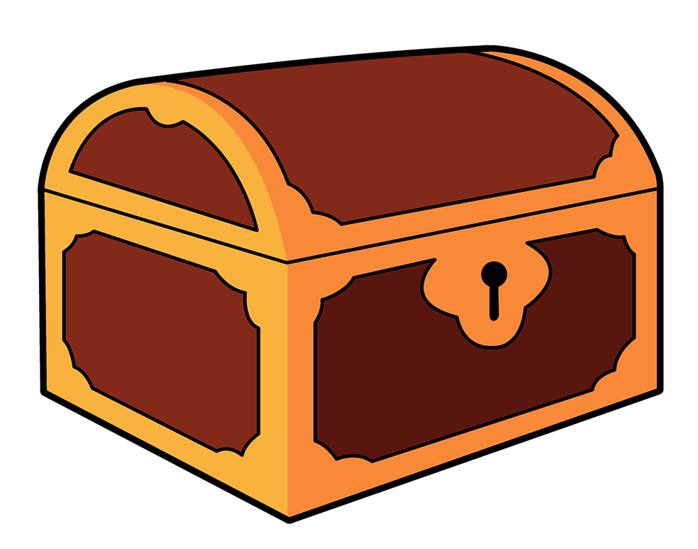 Free Cartoon Treasure Chest Clip Art