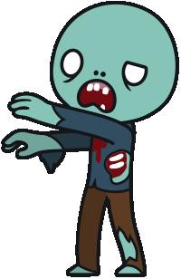 Free Cartoon Zombie Clip Art u0026middot; zombie18