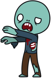 Free Cartoon Zombie Clip Art u0026middot; zombie18