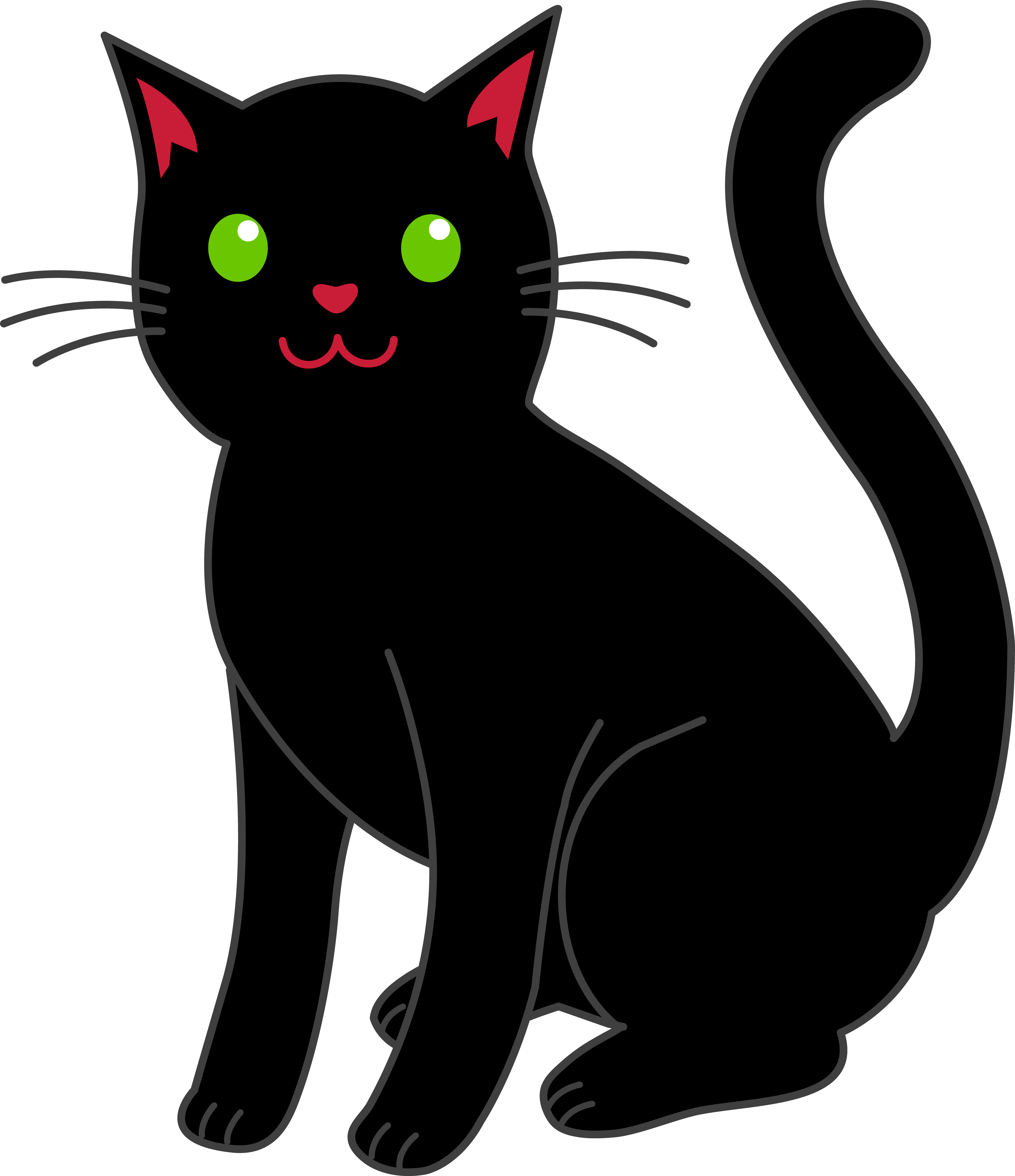 Free cat clipart images clipa - Cat Clipart Free