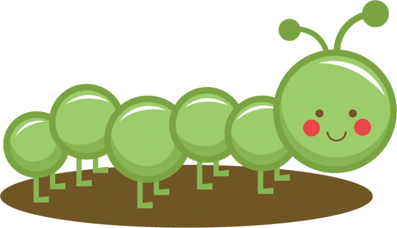 Free Caterpillar Clipart