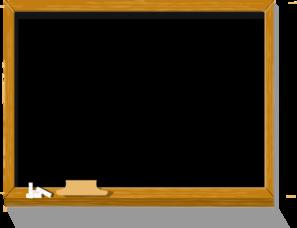 Free chalkboard clipart public domain chalkboard clip art image 4 3