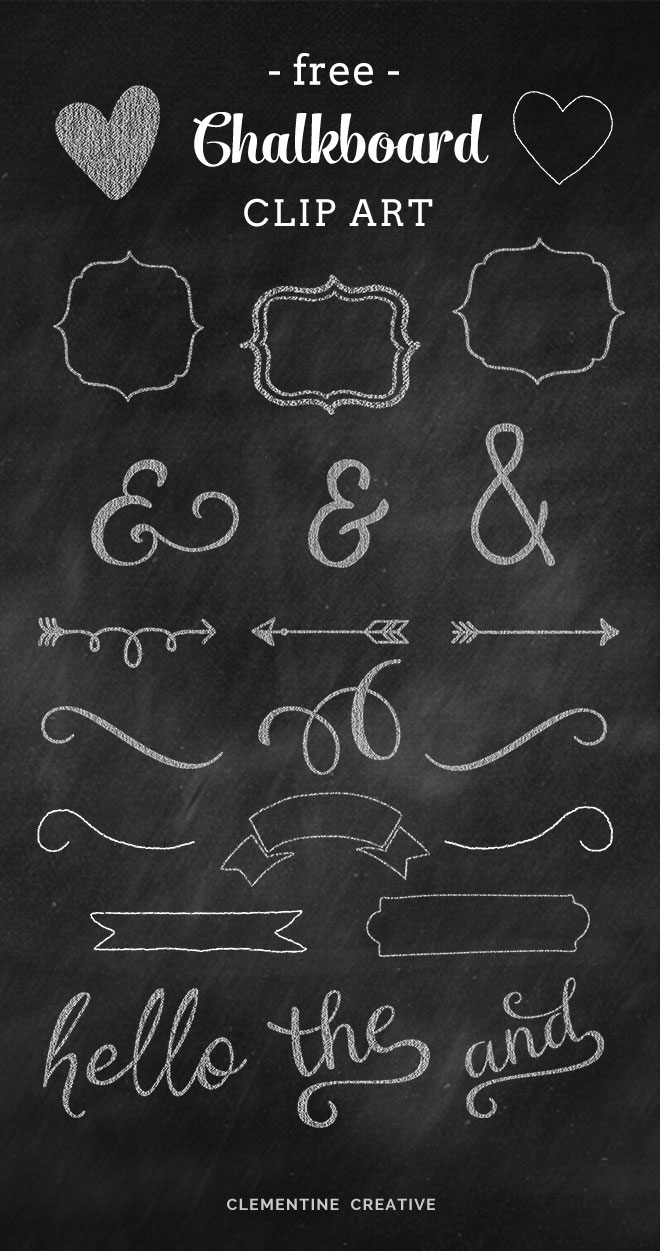 Free Chalkboard Graphics And Clip Art-free chalkboard graphics and clip art-17