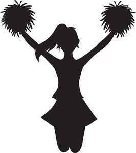 Free Cheerleader Clipart