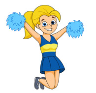 Free Cheerleading Clipart