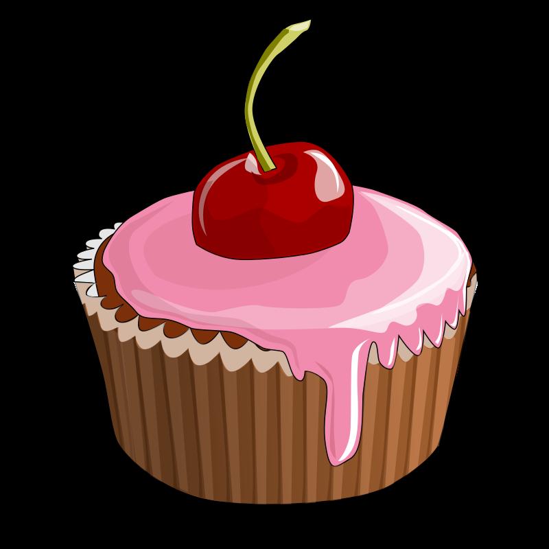 Free Cherry Cupcake Clip Art-Free Cherry Cupcake Clip Art-13