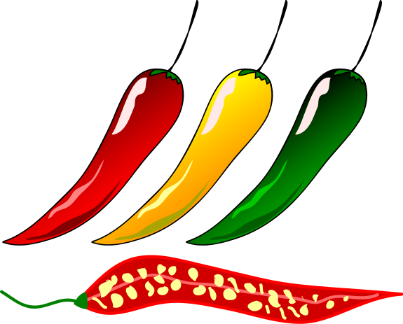 Free chili pepper clipart 1 . - Chili Pepper Clip Art
