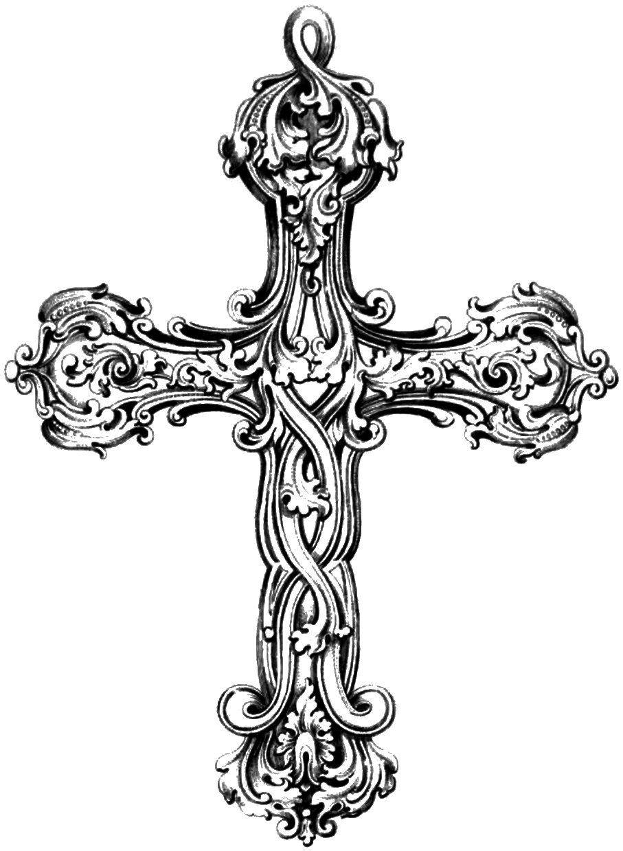 Free christian clipart crosses - ClipartFest