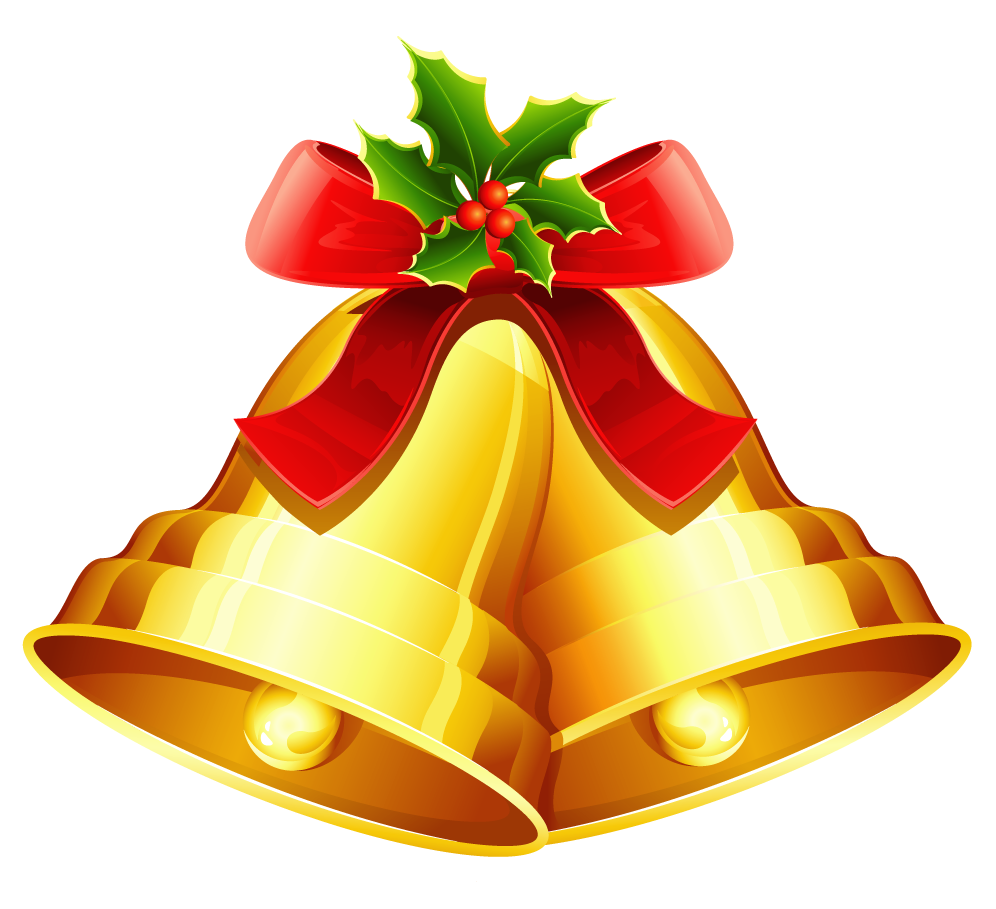 Free christmas bell clipart .