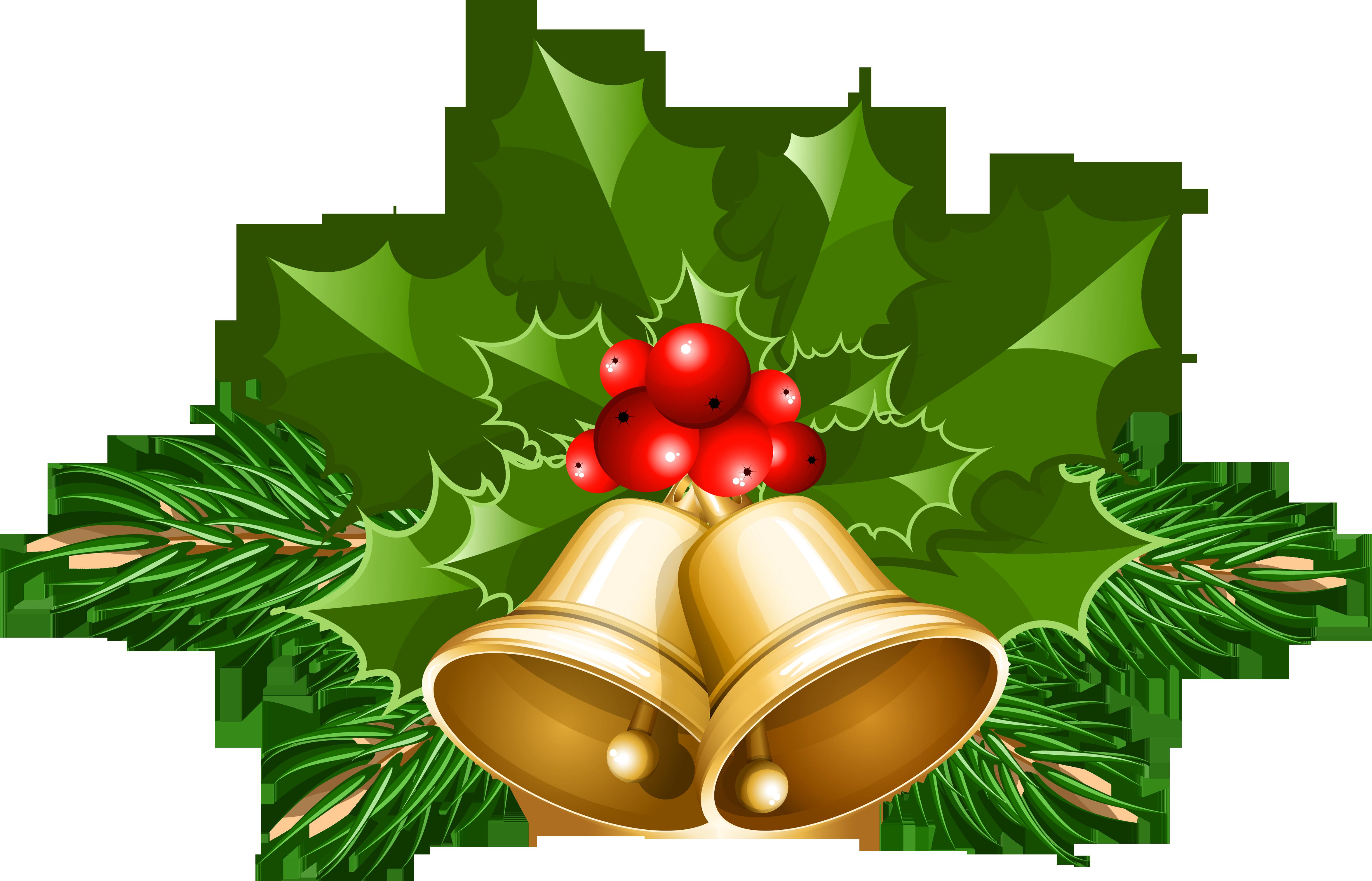 Free Christmas Bell Clipart.  - Christmas Bells Clip Art