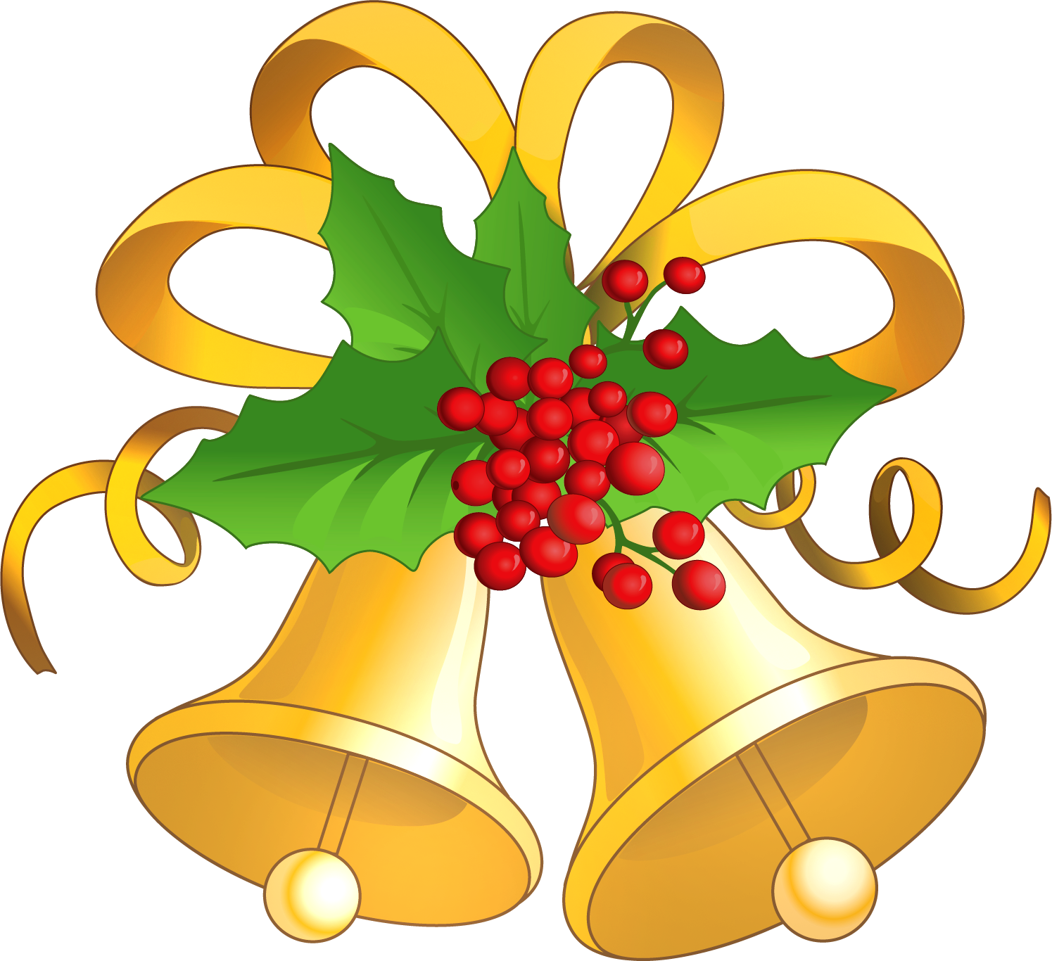 Free Christmas Bells Clip Art. Image Of Christmas Bells