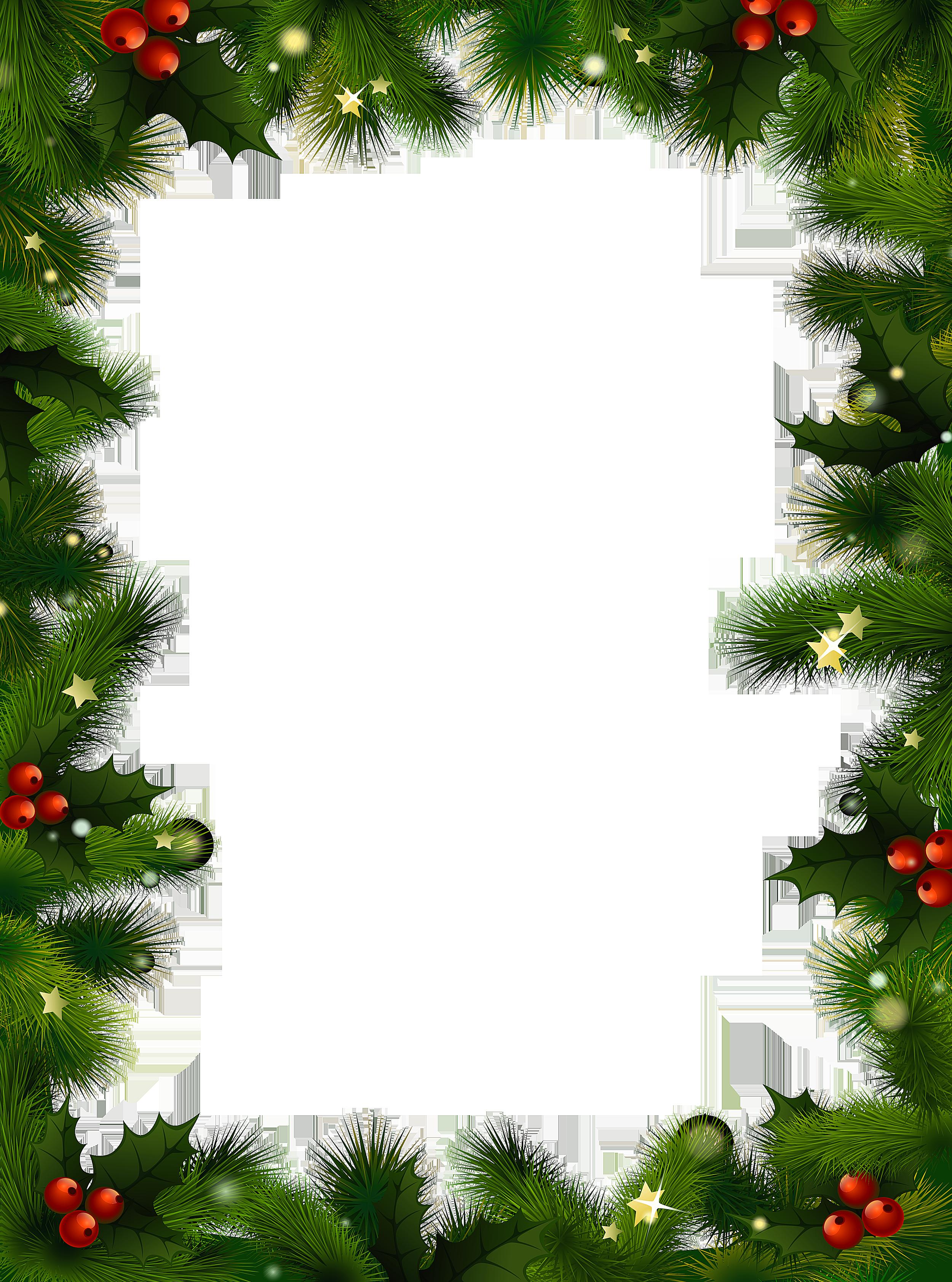 Free Christmas Borders You Ca - Christmas Border Clipart