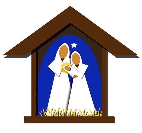 Free Christmas Clip Art Images - Nativity, Wreaths, Trees u0026amp; More!