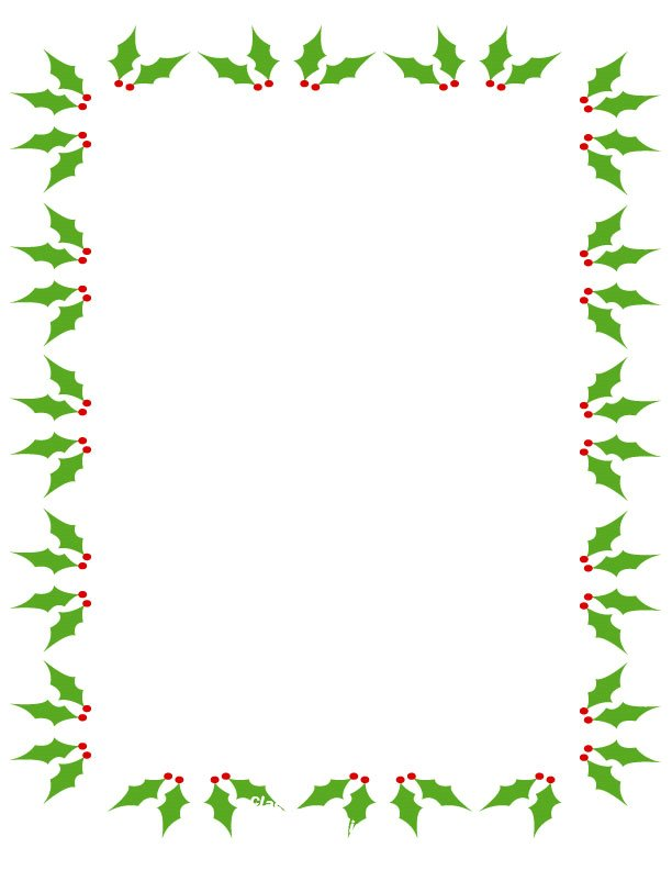 Free Christmas Clipart Borders .-Free christmas clipart borders .-17