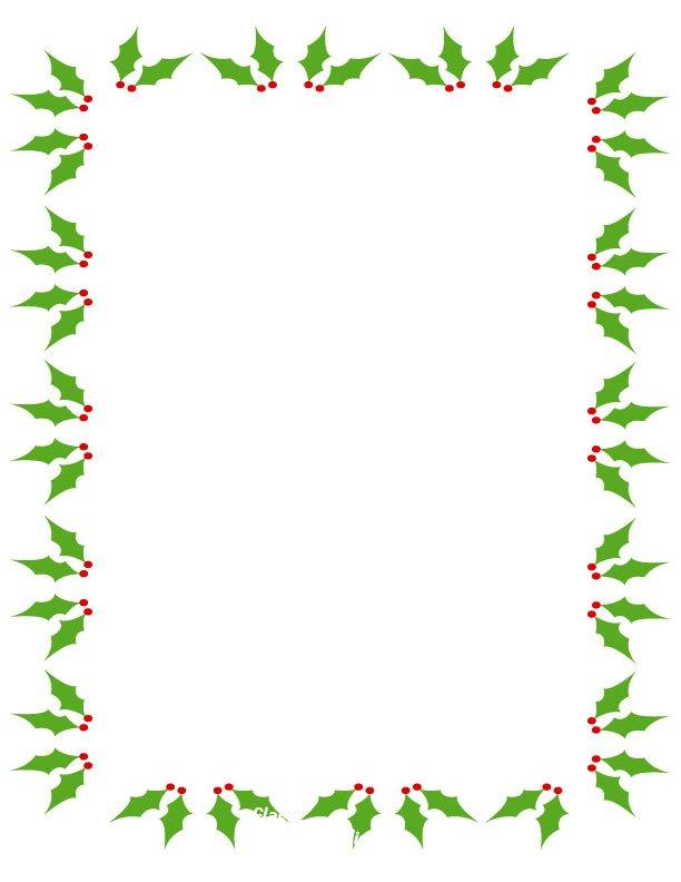 Free Christmas Clipart Borders .-Free christmas clipart borders .-17